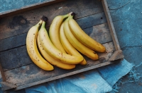A gardener from Stockport, near Manchester, has grown ripe bananas
